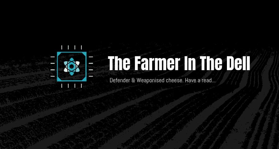 Tiberium blog - farmer in the dell title image
