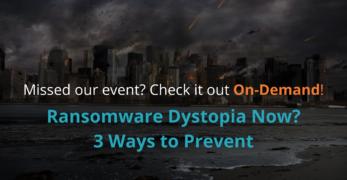 Ransomware Webinar On Demand