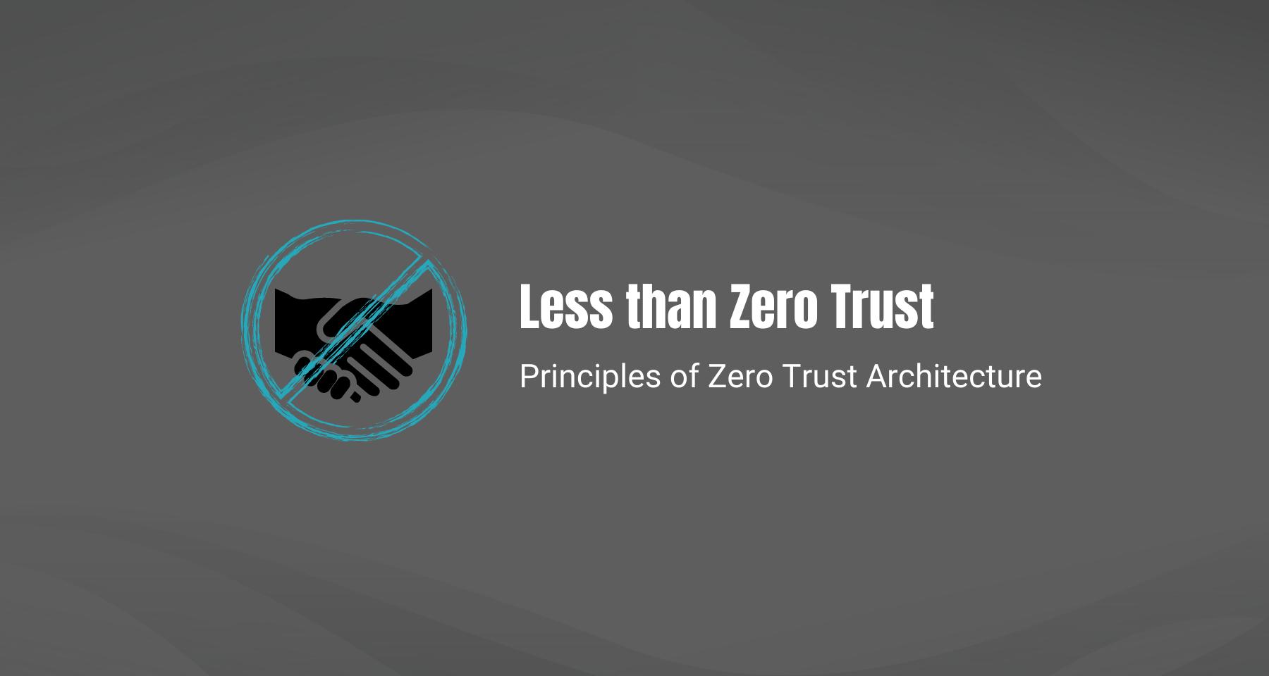 Zero Trust header